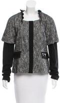 Philosophy di Alberta Ferretti Embellished Tweed Jacket