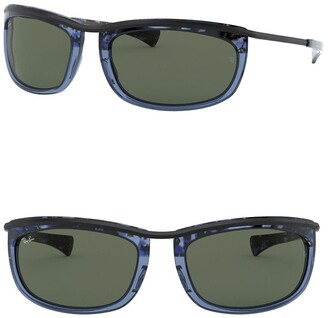 Ray-Ban 62mm Oval Sunglasses