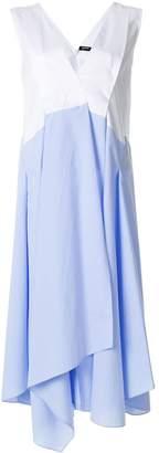 Jil Sander Navy layered skirt shift dress