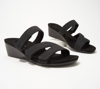 Vionic Multi-Strap Wedge Sandals - Deanna