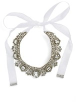 Nina Women's 'Glamorous' Tie Collar Necklace