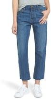 Current/Elliott Women's 'The Original' Crop Straight Jeans