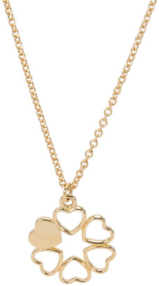 Tiffany & Co. Paloma Picasso Mini 6 Heart 18K Yellow Gold Pendant Necklace