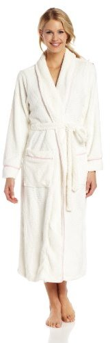 Nautica Sleepwear Women's Plush Ladder Robe