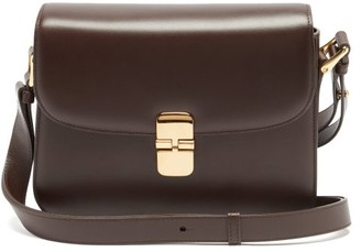 A.P.C. Grace Leather Cross-body Bag - Brown