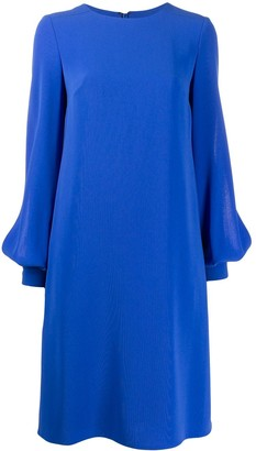Talbot Runhof Plain Midi Dress