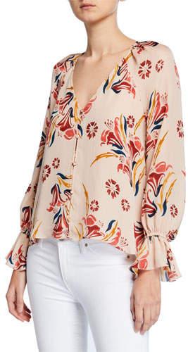 611d623027517a Joie Floral Top - ShopStyle