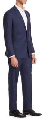 Giorgio Armani Micro Dot Wool Suit