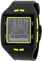 Vestal Unisex BRG018 Brig Tide & Train Digital Display Quartz Black Watch