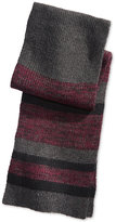 Alfani Men's Colorblocked Marled Scarf, Only at Macy's