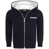 DSQUARED2 Dsquared2Baby Boys Navy Zip Up Top
