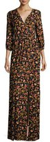 Rachel Pally Armand Floral-Print Long Slit-Front Maxi Dress