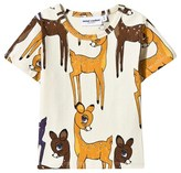 Mini Rodini Roe Deer Tee Brown