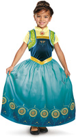 Disguise Anna Frozen Fever Deluxe Dress-Up Set - Toddler & Kids