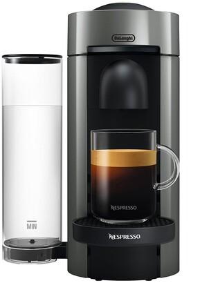 De'Longhi Nespresso Vertuoplus Coffee & Espresso Single-Serve Machine In Gray