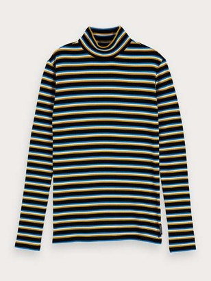 Maison Scotch Long Sleeved Striped Top - S / 19 - Combo C