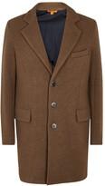 Barena Camel Wool Blend Coat