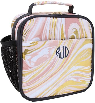 Pottery Barn Teen Gear-Up Marble Blush Gold Recycled Lunch Boxes