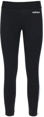 adidas Essential 3s Stretch Cotton Leggings