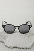Forever 21 Men Glossy Round Sunglasses