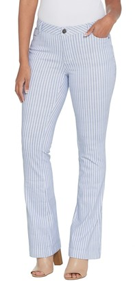 Peace Love World Railroad Stripe Boot Cut Pants