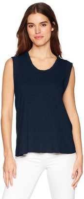 Three Dots Women's Eco Knit Short Loose Tank