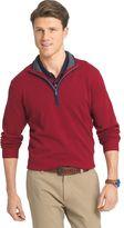 Izod Men's Classic-Fit 12gg Solid Quarter-Zip Pullover Sweater
