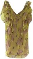 Zadig & Voltaire Spring Summer 2018 Yellow Silk Dress for Women