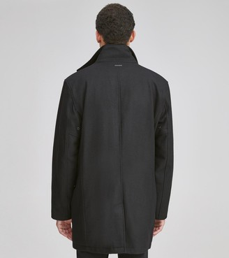 Andrew Marc Stanford Everyday Wool Coat