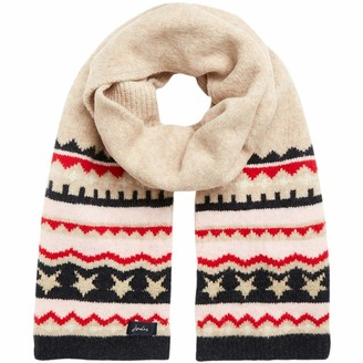 Joules Womens Wilbury Thick Knit Winter Warm Scarf