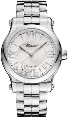 Chopard Happy Sport Diamond & Stainless Steel Bracelet Watch