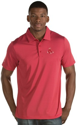 Antigua Men's Boston Red Sox Quest Polo