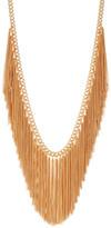 Natasha Accessories Chain Fringe Necklace