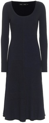Proenza Schouler Stretch-jersey midi dress