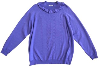 Miu Miu Purple Wool Knitwear for Women