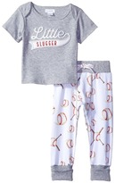 Mud Pie Little Slugger Pants Set Boy's Active Sets