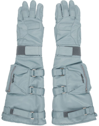 Ambush Blue Astro Gloves