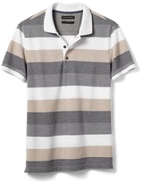 Banana Republic Slim-Fit Rugby Pique Polo