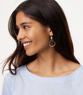 LOFT Stone Outline Drop Earrings