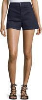 J Brand Tailored Denim Shorts, Inkwell