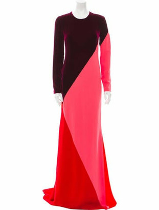 Stella McCartney Colorblock Pattern Long Dress w/ Tags