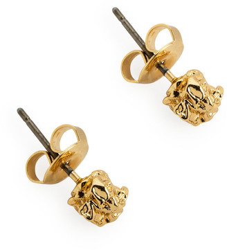 Arket Small Crunched Stud Earrings