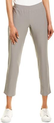 Eileen Fisher Stretch Crepe Slim Leg Ankle Cut