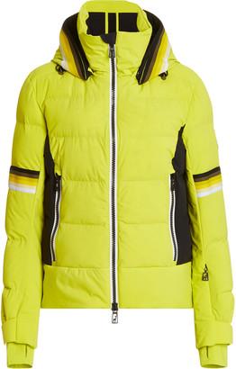 Toni Sailer Mura Padded Stretch-Shell Hooded Ski Jacket
