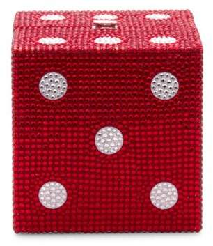Judith Leiber Couture Cube Dice Crystal Clutch