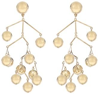 Jil Sander Balance drop earrings