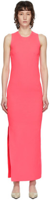 Helmut Lang Pink Essential Tank Dress