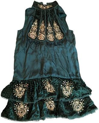 Manoush Green Velvet Dress for Women