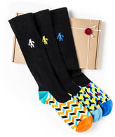 Quiet Rebellion Men's Socks: Invincible Trio
