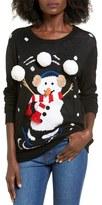 Ten Sixty Sherman Women's Snowman Juggle Sweater